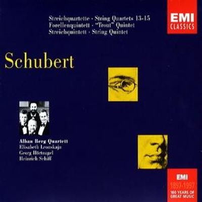 "Schubert: String Quartets 13-15; ""Trout"" Quintet; String Quintet"