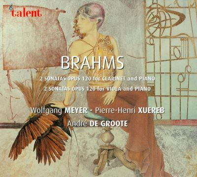 Brahms: 2 Sonatas Op. 120 for Clarinet and Viola with Piano
