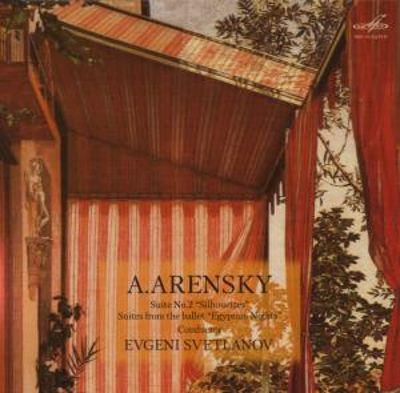 "Arensky: Suite No. 2 ""Silhouettes""; Suites from the ballet ""Egyptian Nights"""