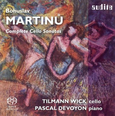 Martinu: Complete Cello Sonatas