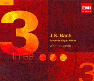 J.S. Bach: Favourite Organ Works
