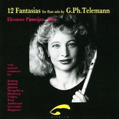 12 Fantasias for Flute Solo by G. Ph. Telemann