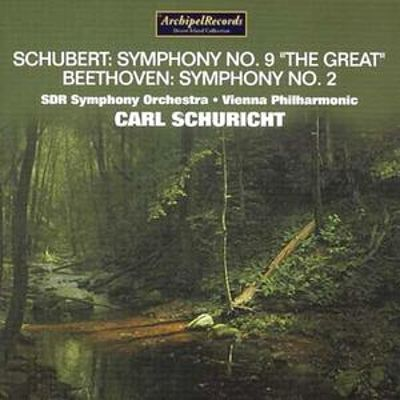 "Schubert: Symphony No. 9 ""The Great""; Beethoven: Symphony No. 2"