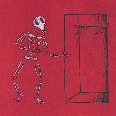 Mr. Bones' Walk-In Closet