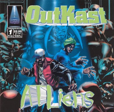 Gallery Outkast Atliens Album Cover