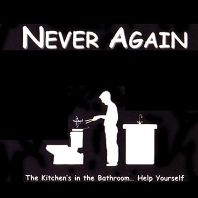 The Kitchen's in the Bathroom...Help Yourself