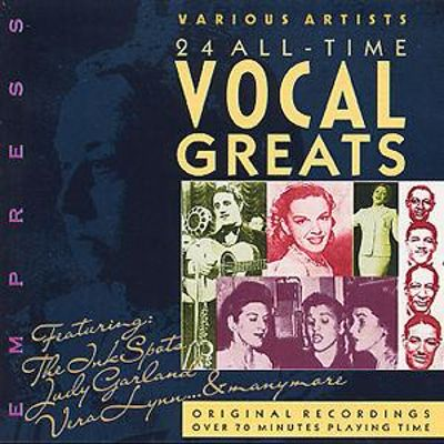 24 All-Time Vocal Greats