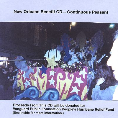New Orleans Benefit CD