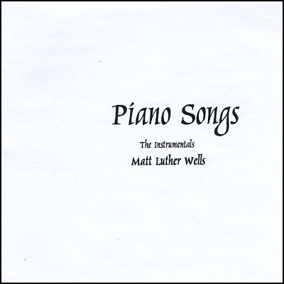 Piano Songs: The Instrumentals