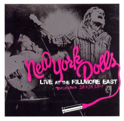 live at the fillmore east december 28 29 2007 new york dolls songs reviews credits. Black Bedroom Furniture Sets. Home Design Ideas
