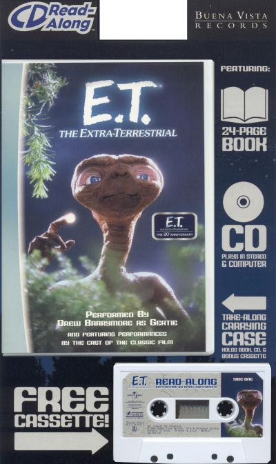 et the extraterrestrial read along disney songs