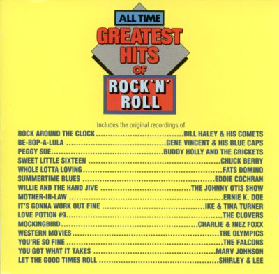 all time greatest hits of rock roll vol 1 various artists songs reviews credits. Black Bedroom Furniture Sets. Home Design Ideas