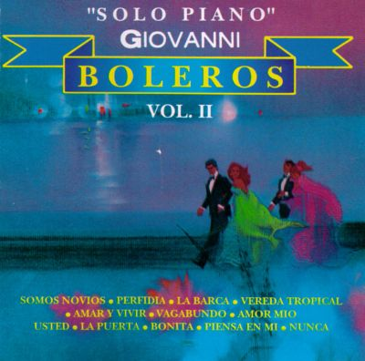 Solo Piano Boleros, Vol. 2