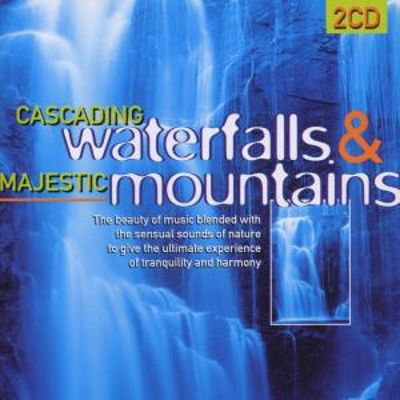 Cascading Waterfalls and Majestic Mountain
