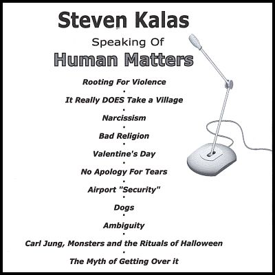 Steven Kalas Speaking of Human Matters