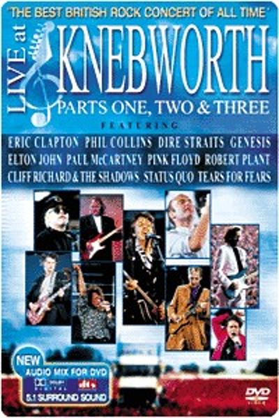 Live at Knebworth, Pts. 1-3 [DVD]