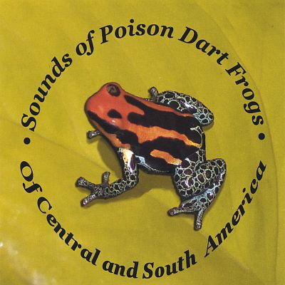 Sounds of Poison Dart Frogs of Central and South America