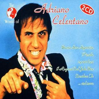 the world of adriano celentano various artists songs. Black Bedroom Furniture Sets. Home Design Ideas