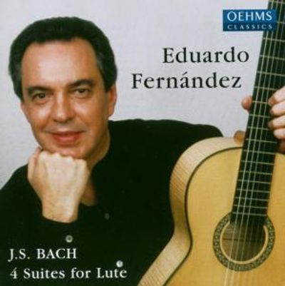 J.S. Bach: 4 Suites for Lute