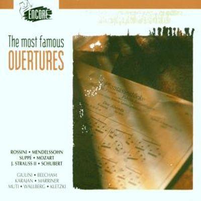 Most Famous Overtures/Various