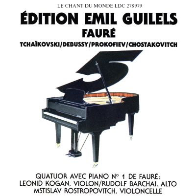 Édition Emil Guilels, Vol. 5
