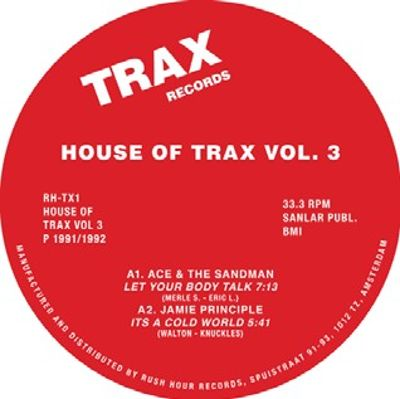 House of Trax Vol. 3