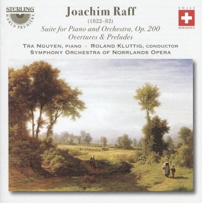 Joachin Raff: Suite for Piano and Orchestra Op. 200; Overtures & Preludes