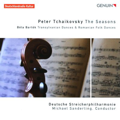 Tchaikovsky: The Seasons; Bartók: Transylvanian Dances; Romanian Folk Dances