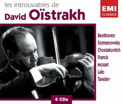 Les Introuvables de David Oïstrakh