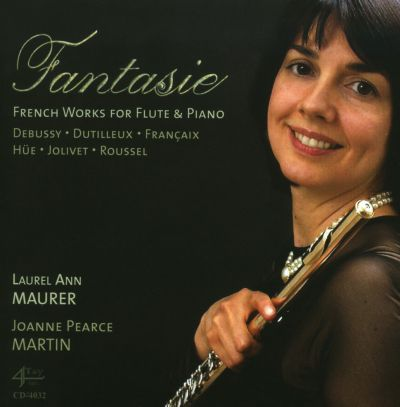 Fantasie: French Works for Flute & Piano