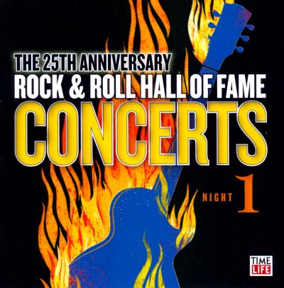 the 25th anniversary rock roll hall of fame concerts various artists songs reviews. Black Bedroom Furniture Sets. Home Design Ideas