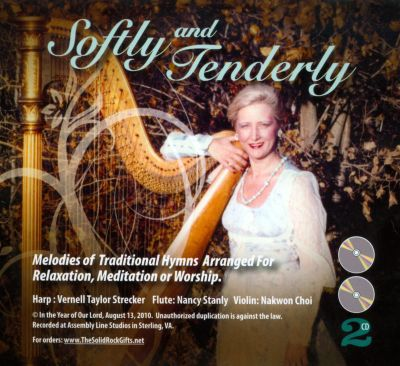 Softly And Tenderly: Melodies Of Traditional Hymns Arranged For Relaxation, Meditation or Worship.