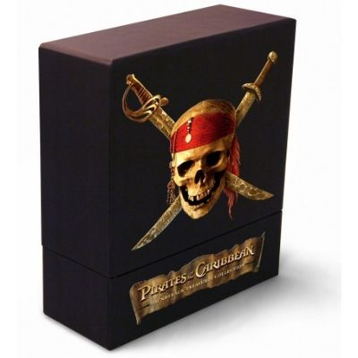 Pirates Of The Caribbean Box Set Collectors Edition 4 Cd1 Dvd