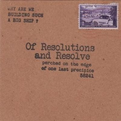 Of Resolutions and Resolve