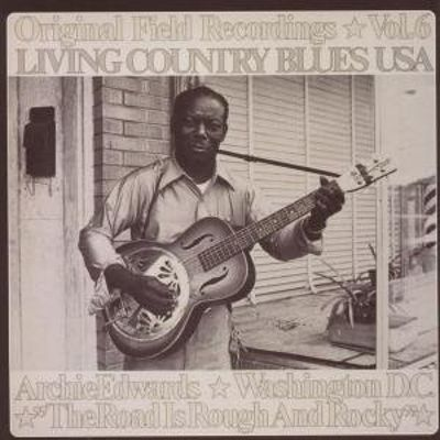 Living Country Blues USA, Vol. 6: The Road Is Rough