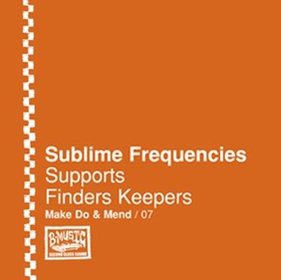 Sublime Frequencies Supports