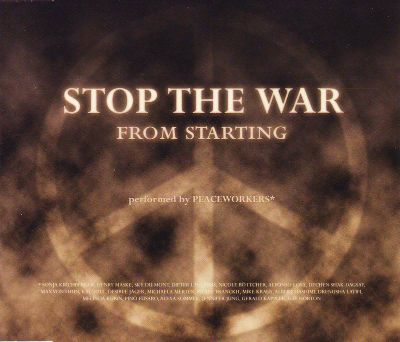 Stop the War from Starting