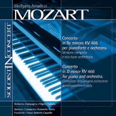 Mozart: Piano Concerto (Complete version and orchestral accompaniment only)