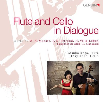 Flute and Cello in Dialogue