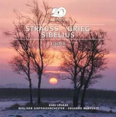 Songs by Strauss, Grieg & Sibelius [Germany]