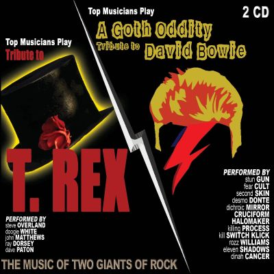 Top Musicians Play A Tribute To T-Rex/A Goth Oddity Tribute To David Bowie