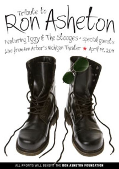 Tribute Concert To Ron Asheton With Iggy & Stooges