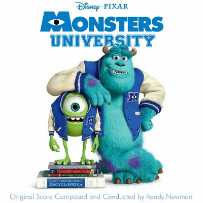 Monsters University, film score