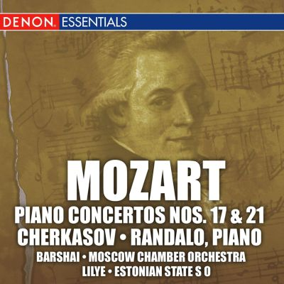 Mozart: Piano Concertos No. 17 and 21