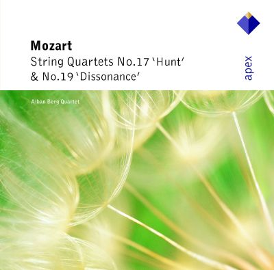 "Mozart: String Quartets Nos. 17 ""Hunt"" & 19 ""Dissonance"""