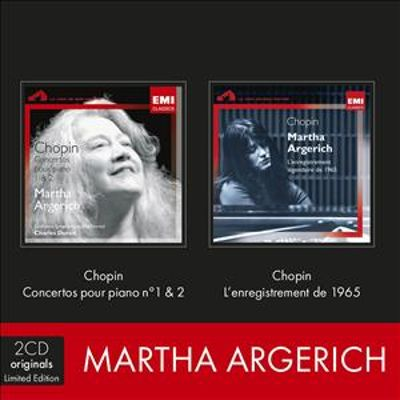 Chopin: Concertos pour piano No 1 & 2 / Chopin: L'enregistrement de 1965