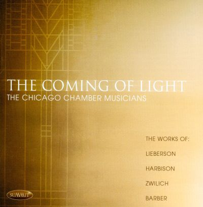 The Coming of Light, for baritone, oboe & string quartet