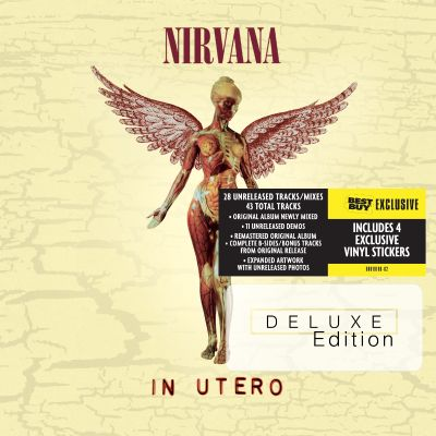 In Utero 20th Anniversary Deluxe Edition Best Buy Exclusive