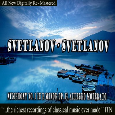 Svetlanov: Symphony No. 1; Pictures of Spain; Azov Mountain