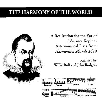 The Harmony of the World: A Realization for the Ear of Johannes Kepler's Astronomical Data from Harmonices Mundi 1619